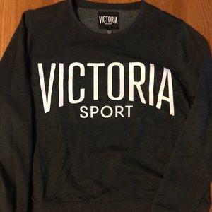 Victoria sport crew neck, size XL charcoal